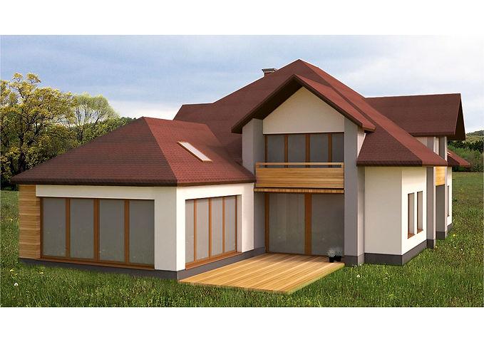 Projekt elewacji 1 | Architekt wnętrz Gdańsk, Gdynia, Sopot | DIZAIN RU:M