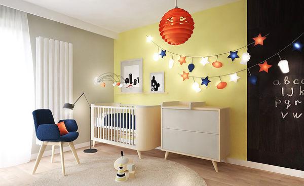 Pokój małego dziecka | Architekt wnętrz Gdańsk | Dizain Rum