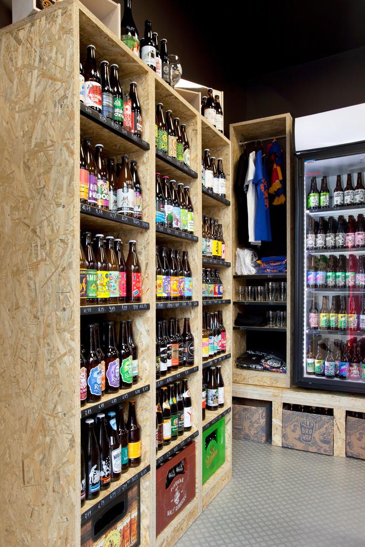 Bimbeer sklep z piwem kraftowym w Sopocie