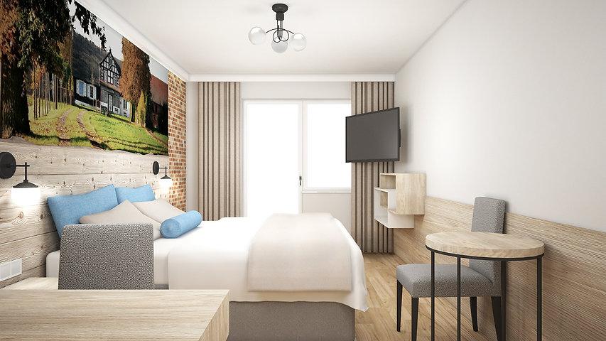 Obraz 1 - Hotel Słoneczny Dwór Krynica Morska | Architekt wnętrz Gdańsk, Gdynia, Sopot | DIZAIN RU:M