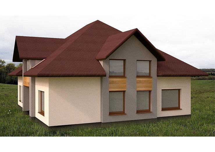 Projekt elewacji 2 | Architekt wnętrz Gdańsk, Gdynia, Sopot | DIZAIN RU:M