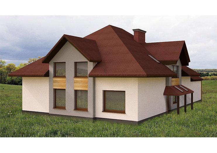 Projekt elewacji 3 | Architekt wnętrz Gdańsk, Gdynia, Sopot | DIZAIN RU:M
