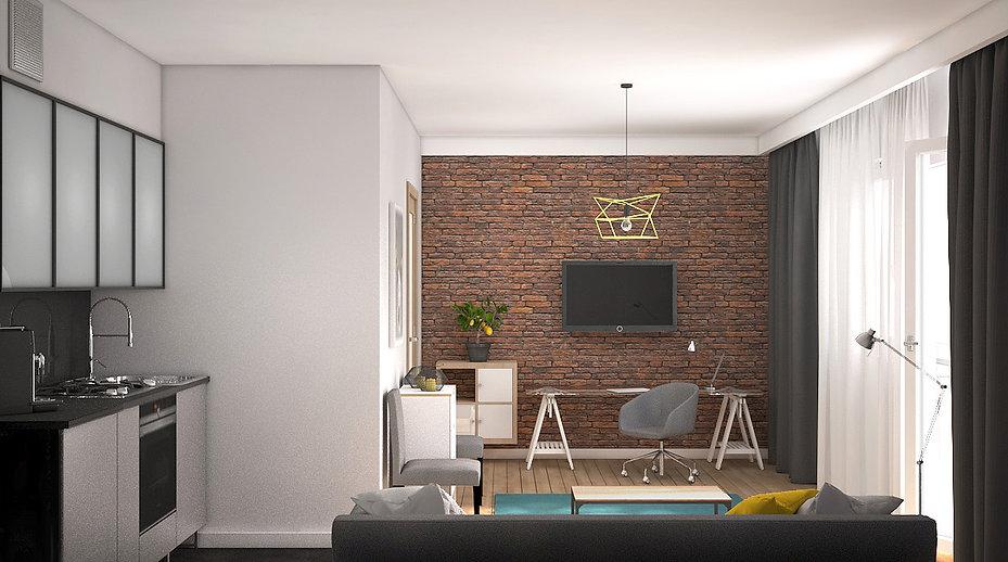 Sopot kawalerka | Architekt wnętrz Gdańsk, Gdynia, Sopot | DIZAIN RUM