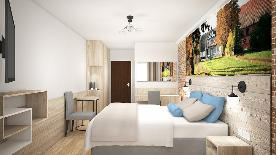 Obraz 2 - Hotel Słoneczny Dwór Krynica Morska | Architekt wnętrz Gdańsk, Gdynia, Sopot | DIZAIN RU:M