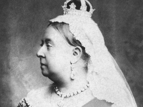 Queen Victoria's finger
