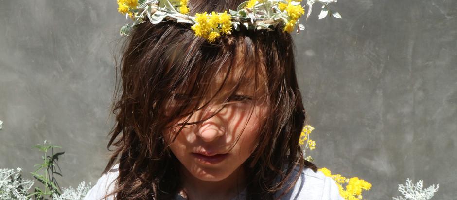 Making a Flower Crown