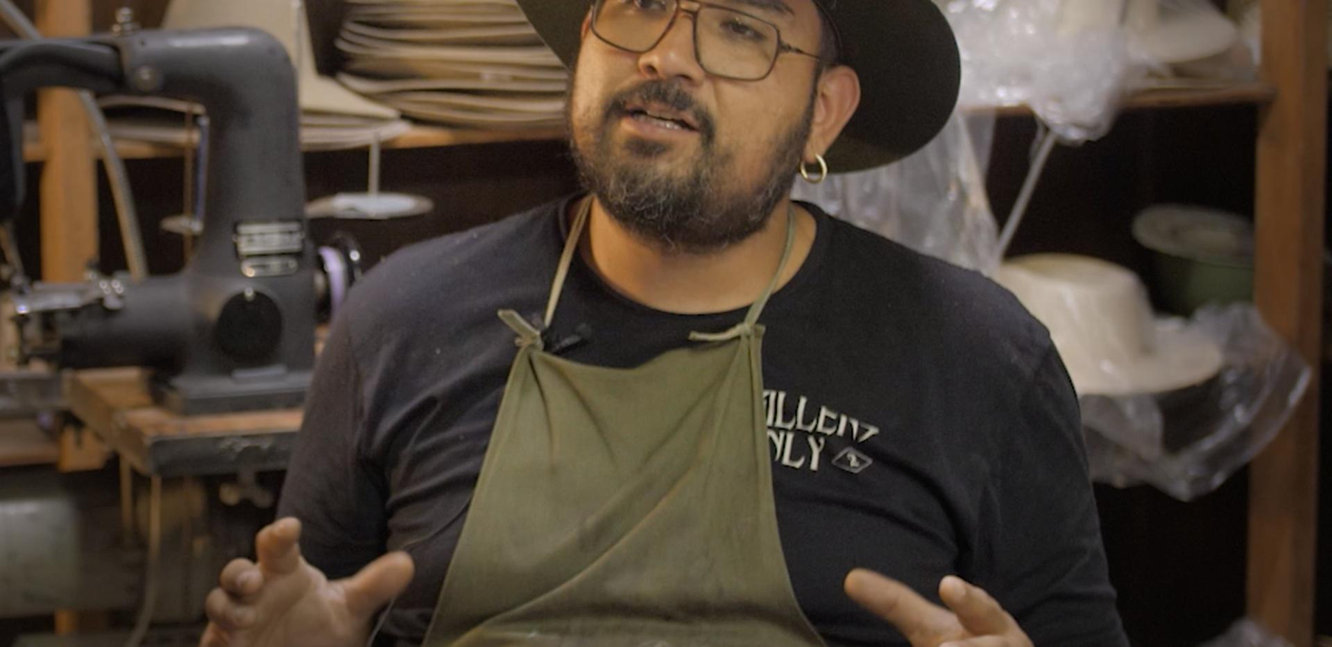Alberto Hernandez - hat maker