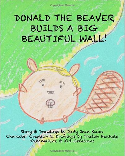 Donald The Beaver Art