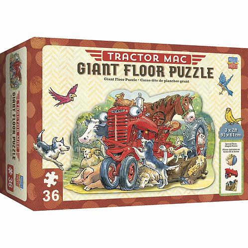 Tractor Mac Giant Floor Puzzle