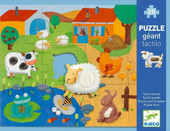 Tactile Farm Puzzle