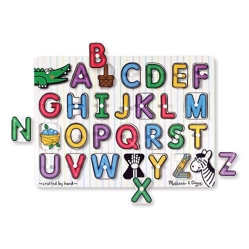 See Inside Alphabet Peg Puzzle