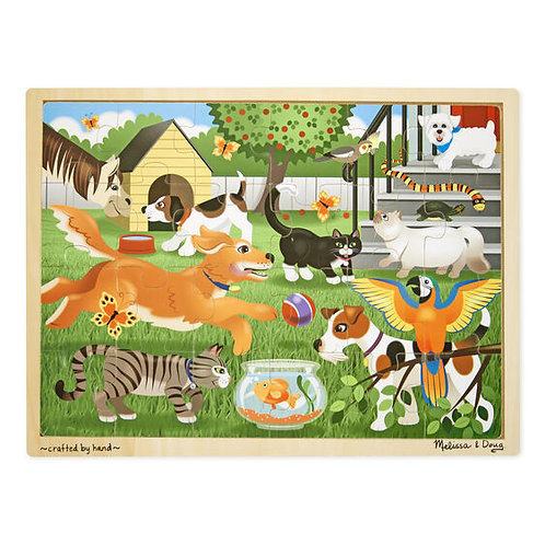 Pets Wooden Jigsaw Puzzle