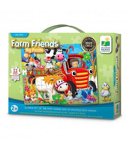 Farm Friends Big Puzzle