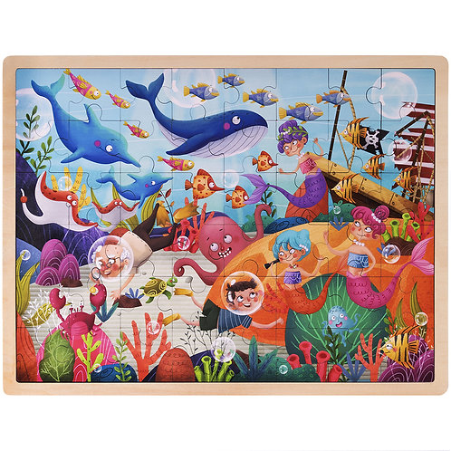 Ollie & Mr. Noodle Deep Sea Diving Puzzle