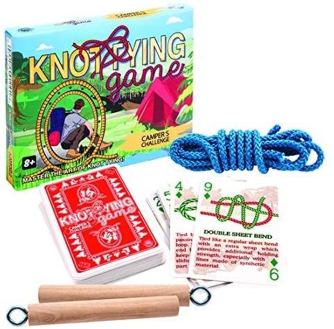 Knot Tying Game: Camper's Challenge
