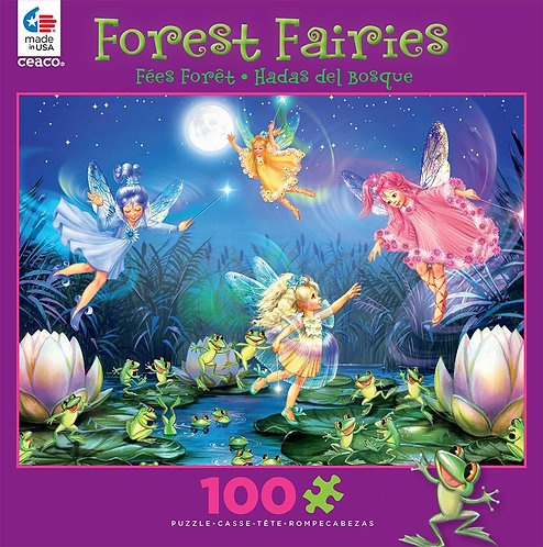 Forest Fairies - Dancing Frogs