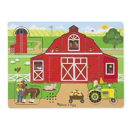 Around the Farm See & Hear Puzzle