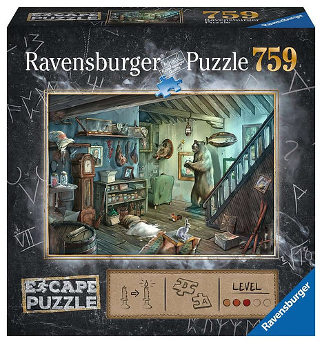The Forbidden Basement - Escape Puzzle