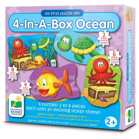 4-In-A-Box Ocean Puzzles