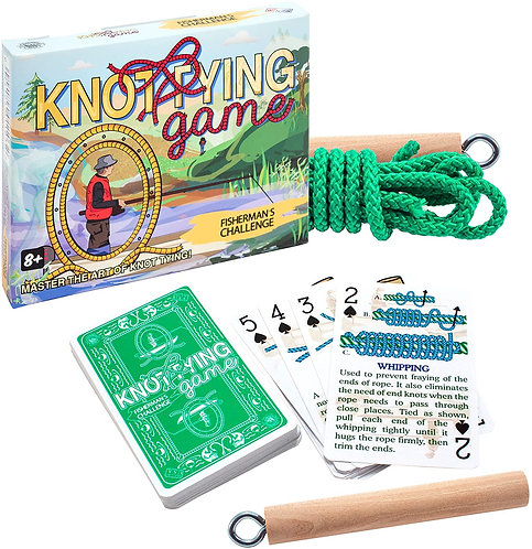 Knot Tying Game: Fisherman's Challenge