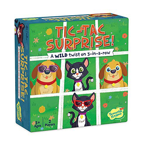 Tic-Tac Surprise: Cats & Dogs