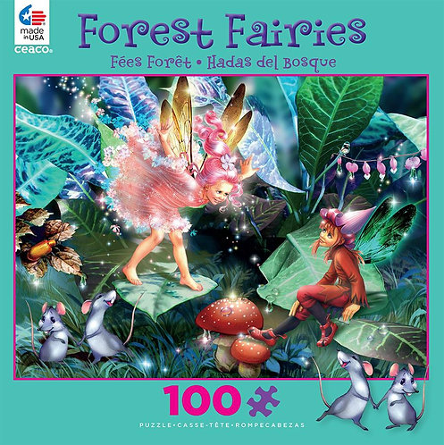 Forest Fairies - Elf and Mice