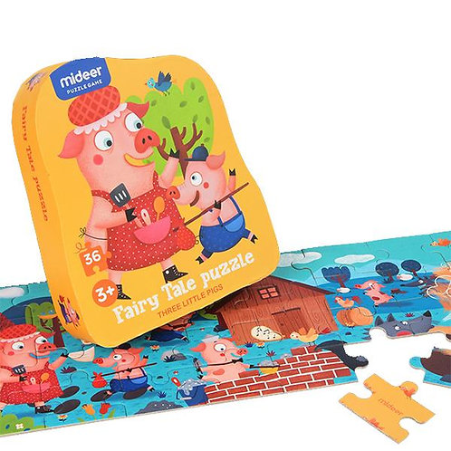 Fairy Tale Puzzle - Three Little Pigs