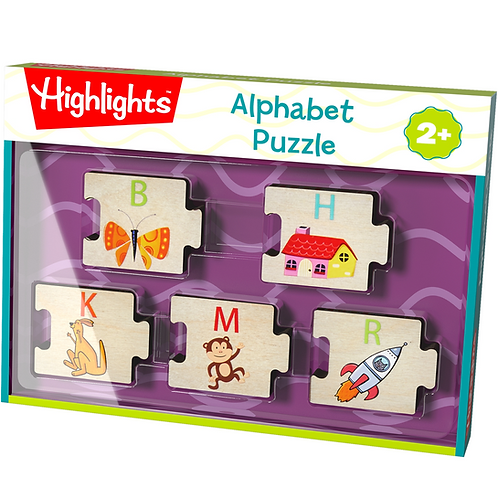 Highlights Alphabet Puzzle