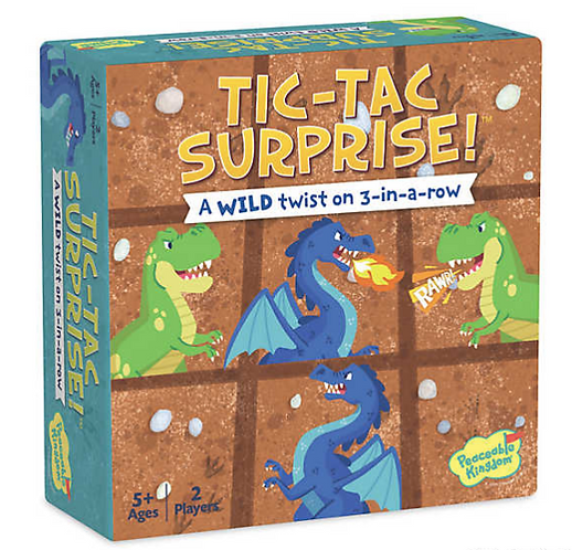 Tic-Tac Surprise: Dragons & Dinosaurs