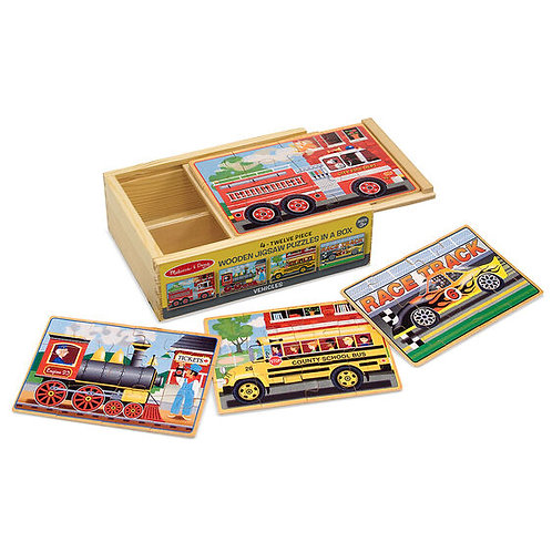 Vehicles Wooden Jigsaw Puzzles