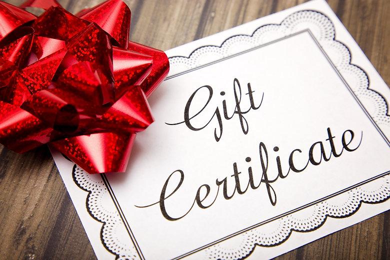Advertisement for Gift Certificates.jpg