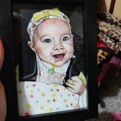 A6 Watercolour Portrait (Gift)