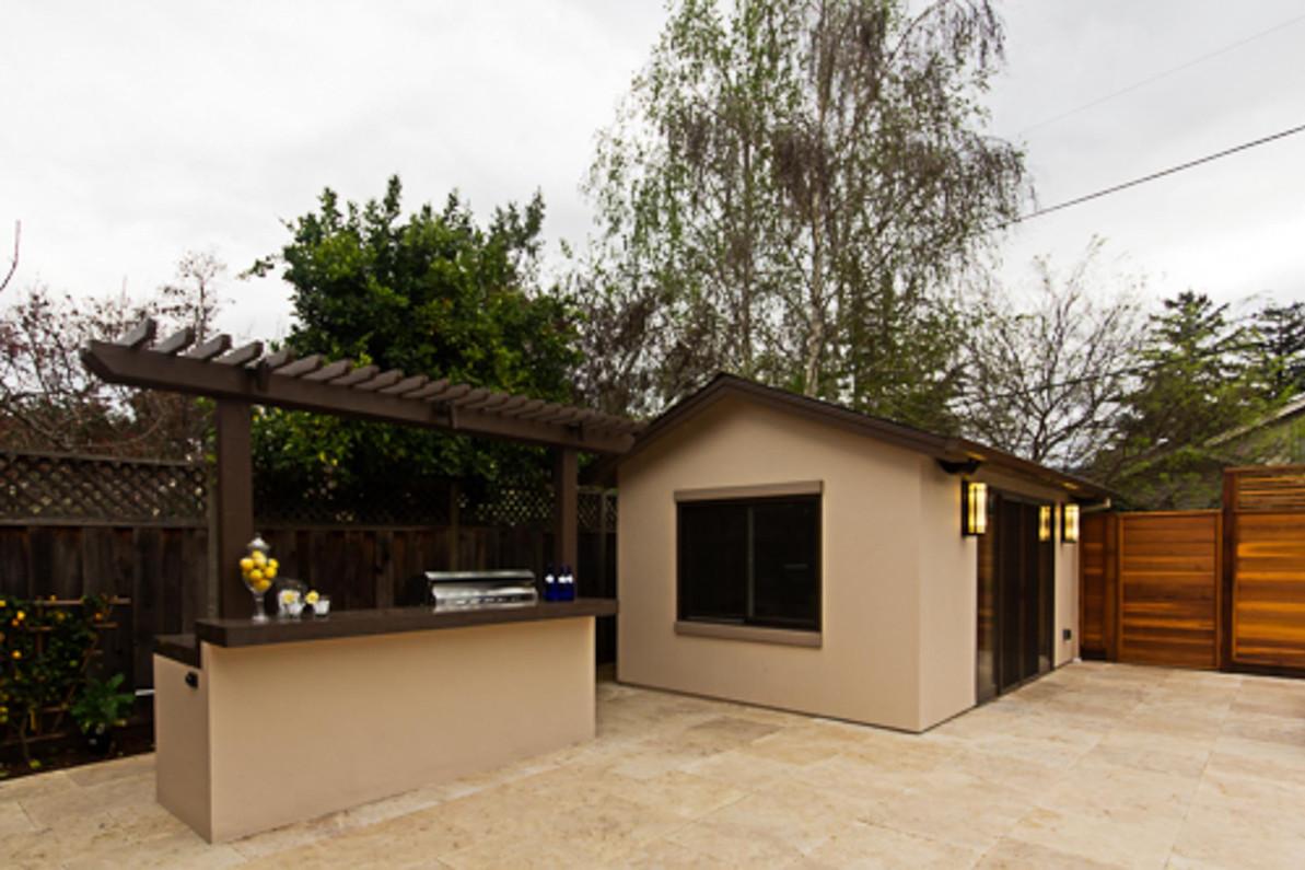 Contemporary - Orange - Backyard - 7 - A
