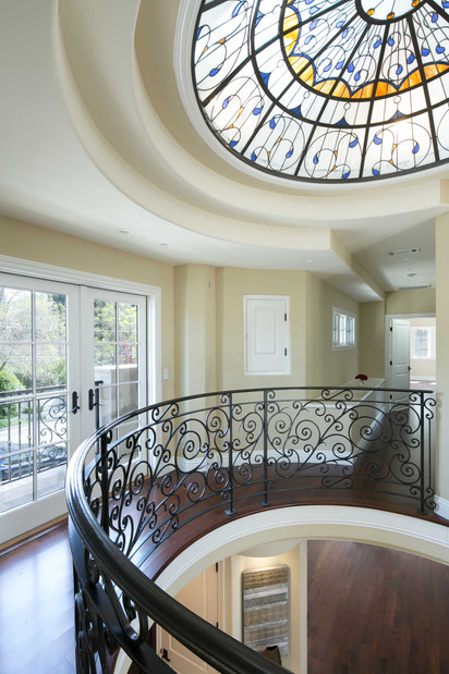 Transitional - Pine - Staircase - 3 - Af