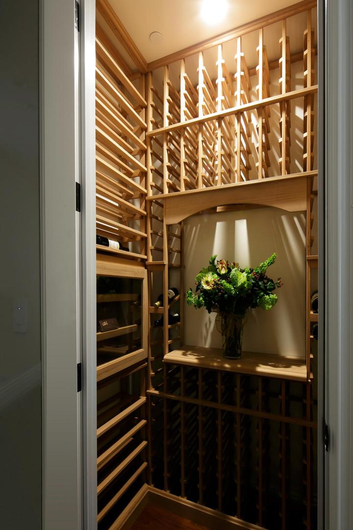 Transitional - Pine - Wine Room - 1 - Af