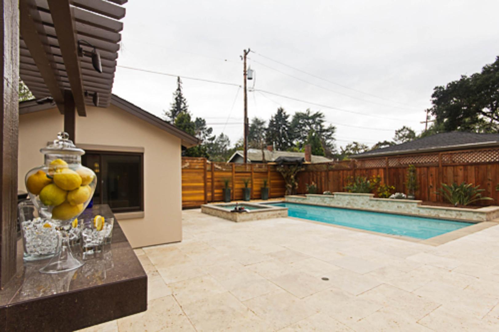 Contemporary - Orange - Backyard - 5 - A