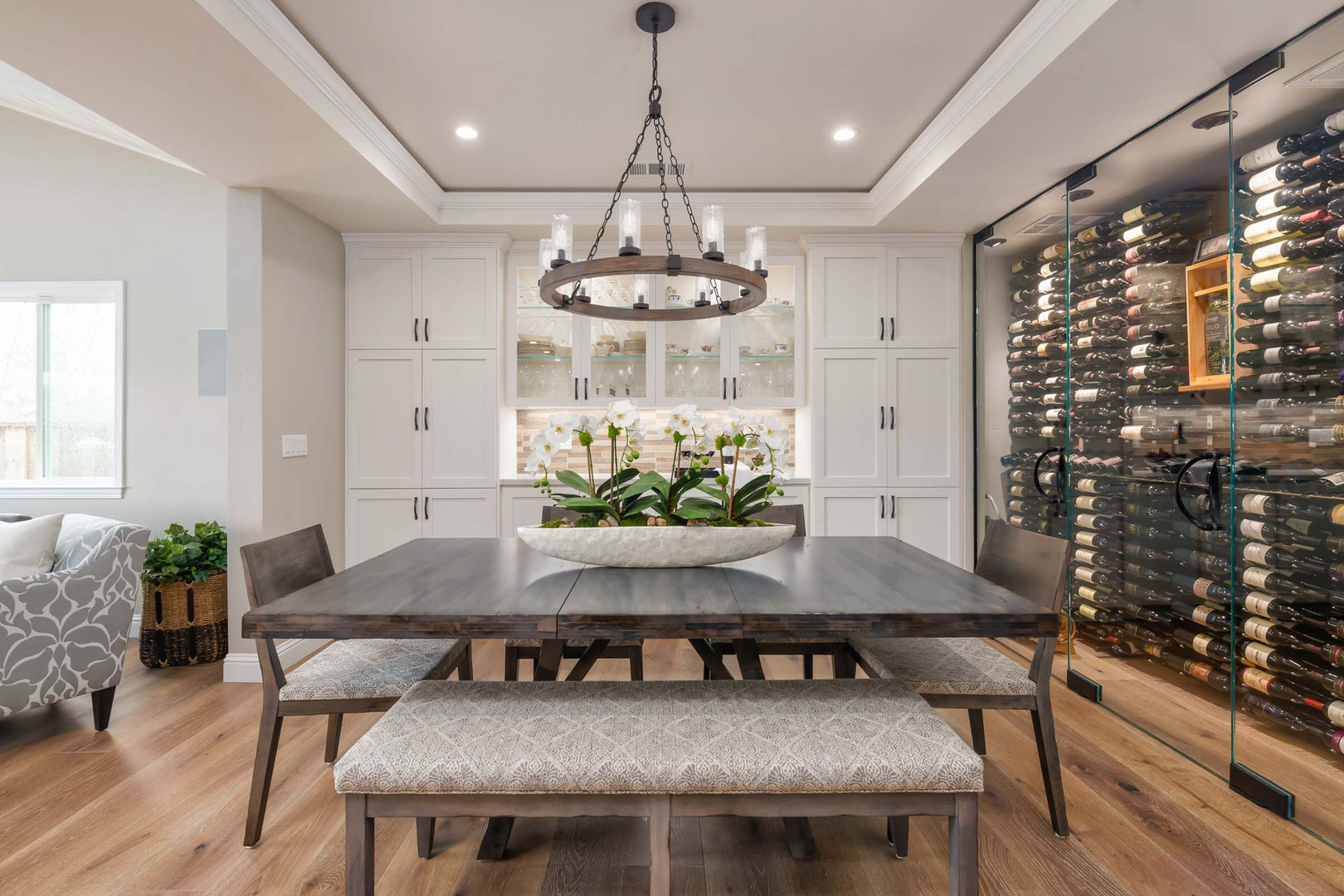 Transitional - Branham - Wine Room - 2 -