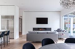 Thornborrow living room moder design fir