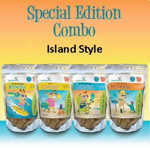 Special Edition Combo- Island Style (four 8-oz bags)