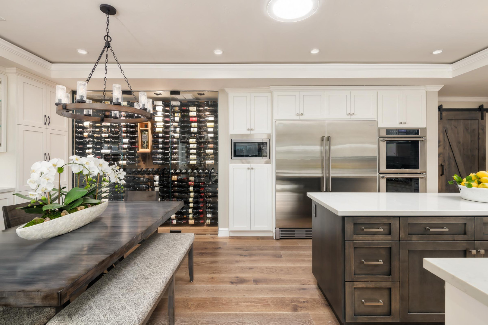 Transitional - Branham - Wine Room - 1 -