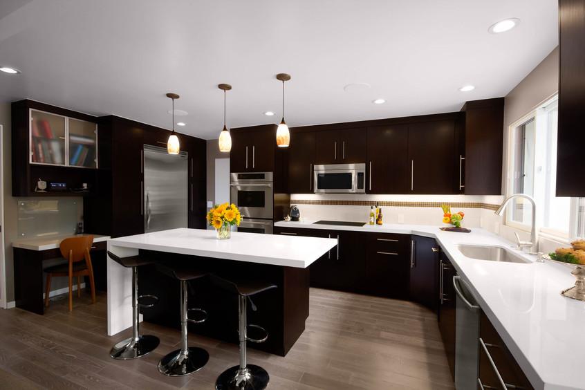 Contemporary - Orange - Kitchen - 2 - Af