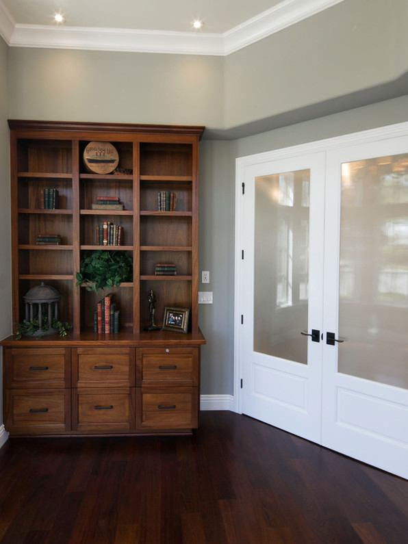 Transitional - Pine - Library - 2 - Afte