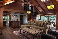 Danko living room remodel wood interior