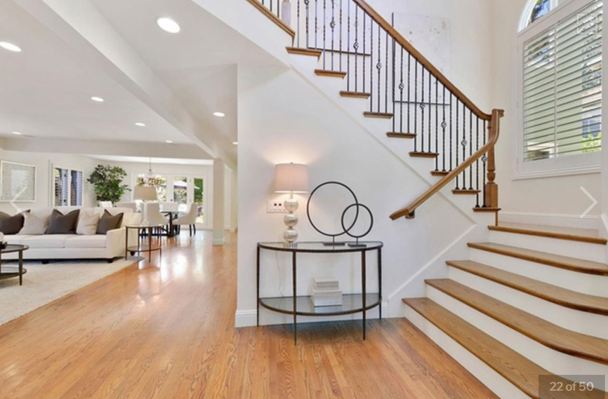 Transitional - Bryant - Staircase - 1 -