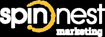 spin nest marketing logo white reverse-0
