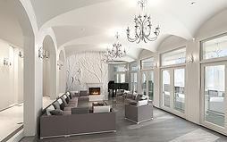 Blackberry living room elegant modern sp