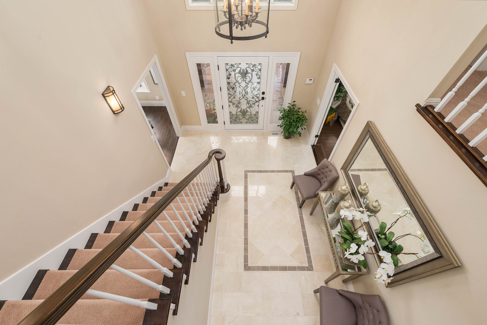 Transitional - Deer Trail - Staircase -