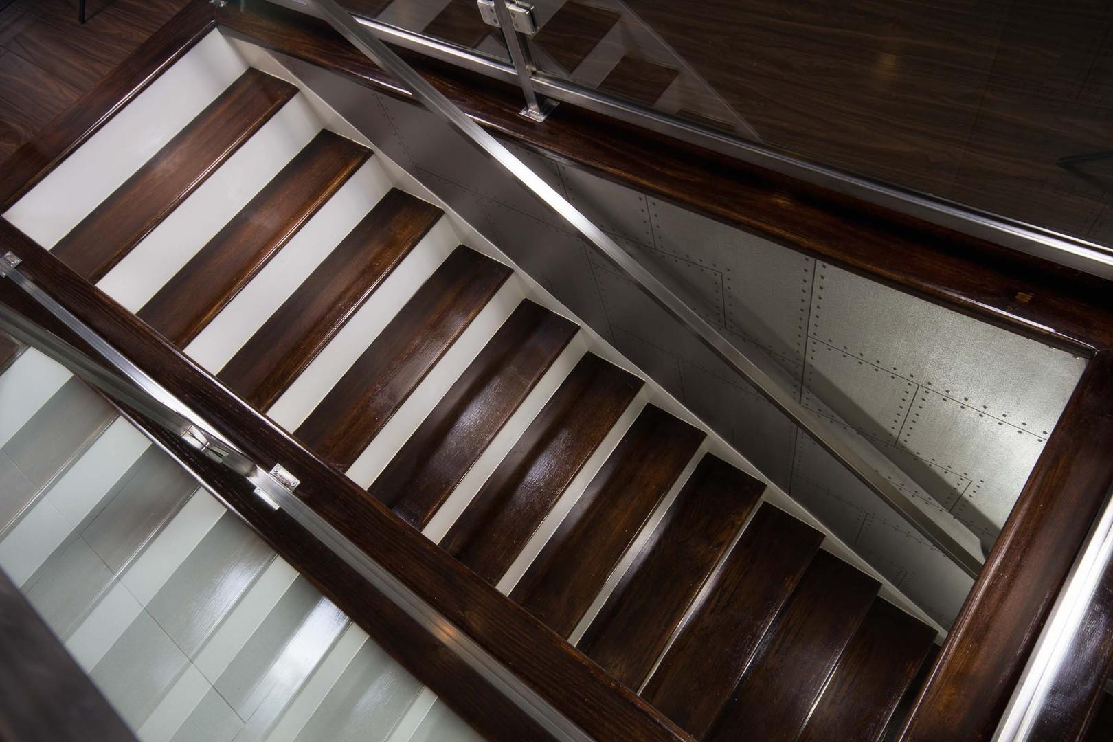 Contemporary - Royce - Staircase - 2 - A