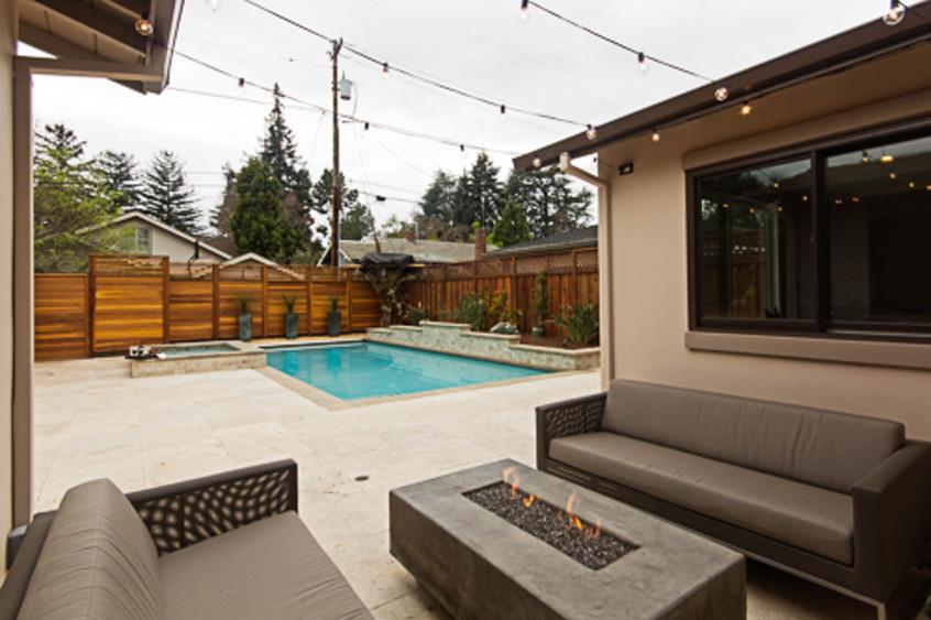 Contemporary - Orange - Backyard - 4 - A