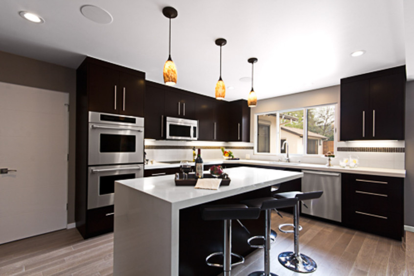 Contemporary - Orange - Kitchen - 1 - Af